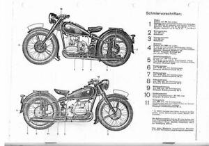 Betriebsanleitung BMW Kraftrader E-Book R-51 R-66 R-61 R-71 E-Buch  manual  book