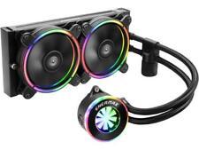 Enermax Liqfusion ELC-LF240-RGB RGB 240mm AIO Liquid CPU Cooler with Patented Fl