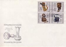 Ersttagsbrief DDR MiNr. 3226-3229, Fernsprechapparate im Wandel der Zeiten (2)