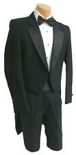 Boys Size 14 Black Raffinati Tuxedo Tailcoat with Pants Damaged Discount