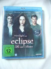 """Die Twilight  - eclipse- Biss zum Abendrot""  DVD Deluxe Fan Edition, Neu, OVP"