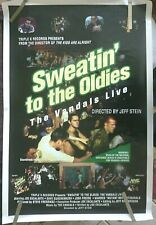 The Vandals Live Sweatin To Oldies 1994 Vintage Orig Punk Music Promo Poster