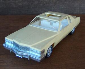 ESTATE FIND Vintage JO-HAN 1977 CADILLAC COUPE DE VILLE PROMO MODEL CAR