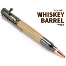 Custom Engraved Barrel Wood Bolt Action Pen