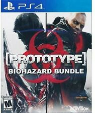 PLAYSTATION 4 PS4 GAME PROTOTYPE BIOHAZARD BUNDLE 1 & 2 NEW AND SEALED