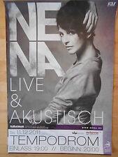 NENA 2011 BERLIN   -  orig.Concert-Konzert-Tour-Poster-Plakat DIN A1