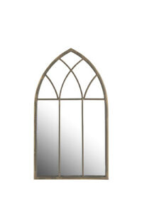 Garden Gothic Rustic Gold Mirror Petite