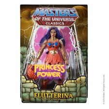 2014 MATTY COLLECTOR MOTU MASTERS OF THE UNIVERSE FLUTTERINA FIGURE!!