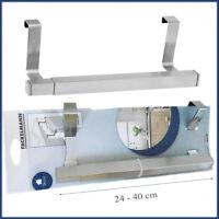 Towel Rail Expandable Cupboard Tea Towel Holder Metal Rail Kitchen Bathroom Rack