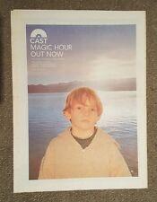 Cast Magic Hour  1999 press advert Full page 30 x 40 cm mini poster