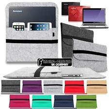 "Wool Felt Sleeve Case BAG For 14"" LENOVO ideapad ThinkPad YOGA Laptop Notebook"