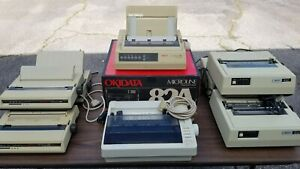 Okidata MICROLINE 320 [one] | ML192+ [three] | ML82A [four] - Lot of 9 printers