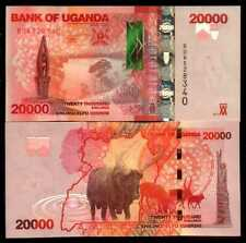 UGANDA  -  20000  SHILLINGS  2015  Prefix BD -  P 53c   Uncirculated