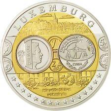 [#554084] Luxembourg, Médaille, Cour de Justice Européenne, 2002, SPL+, Argent