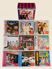 Bay City Rollers - 9 Mini LP CD Japan 2008 + BOX COMPLETE VERY RARE OOP MINT!!!!