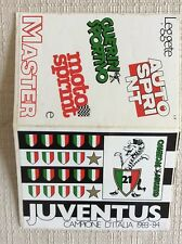 GUERIN SPORTIVO ADESIVI CALCIO JUVENTUS CAMPIONE ITALIA 83/84  AUTO MOTO SPRINT