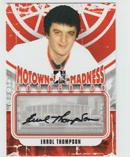 2012-13 ITG MOTOWN MADNESS Errol Thompson AUTOGRAPH CARD SIGNED