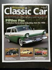 Hemmings Classic Car November 2004 53 Pontiac 51 Henry 57 Chevrolet 57 Ford