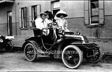 "Photo 1900s NSW Australia ""Three People in De Dion-Bouton 1904 Automobile"""