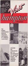 1950's Hampton Virginia Promotional Brochure