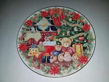 """Royal Doulton: 8.25"""" Diameter Together For Christmas Plate 161101005"""