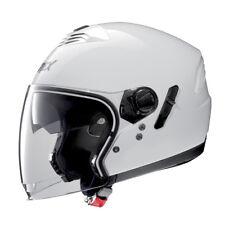 CASCO DEMI-JET GREX G4.1E CINÉTICO - 4 METAL WHITE TALLA L