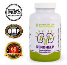 RENOHELP Supplement Kidney Support Gout Uric Acid Natural Vitamin