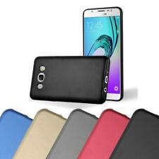 Silicone Case for Samsung Galaxy J5 2016 Shock Proof Cover Mat Metallic TPU