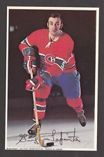 1969-71  MONTREAL CANADIENS POSTCARDS  GUY LAPOINTE   INV  J7359