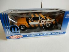 RON MANCINI 1968 DODGE DART   RACE CAR  1.18 DIECAST  NHRA