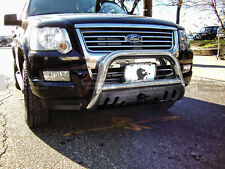 Black Horse 02-05 Ford Explorer Stainless Bull Bar Bumper Guard  BBFOEX02-SP