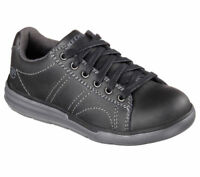 New Youth Skechers Maddox Banter Shoes Style 93873L Black 73V dr