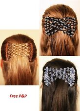 The Magic Clip Stretch EZ Double Comb Different Hair Styles