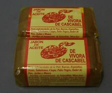 2x Jabon de Aceite de Vibora RattleSnake Soap Treatment Skin