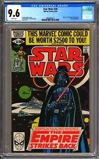 Marvel Comics STAR WARS #39 - CGC 9.6 WP - NM+ EMPIRE STRIKES BACK - DARTH VADER