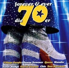 La 70er-Forever & ever Queen, Village People, Rose Royce, Peter Kent [CD DOPPIO]