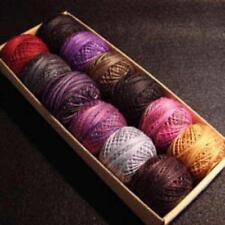 Valdani Perle Pearl Cotton Size 12 Embroidery Thread Halloween Sampler Set