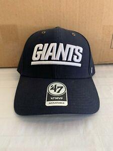 New York Giants NFL '47 Brand Carhartt Mens Navy MVP Adjustable Hat New