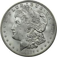 1921-D Morgan Silver Dollar Brilliant Uncirculated - BU