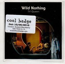 (HA676) Wild Nothing, TV Queen - 2016 DJ CD