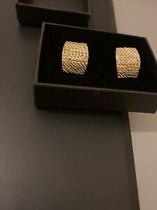14 Ct Gold Earrings