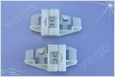 2x WINDOW REGULATOR REPAIR KIT CLIP REAR L & R RENAULT SCENIC II