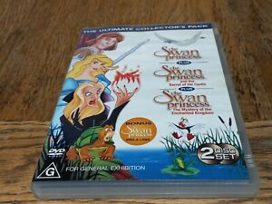 The Swan Princess | Ultimate Collector's Pack | 2 Disc 3 Movie R4 | Good Condit