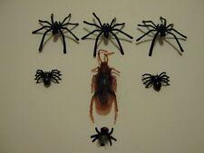 Araña 2 tipos falso Fly Cucarachas Broma broma de caucho plástico Truco Falso De Insectos