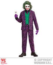 87324 Costume Joker Batman Marvel Bambino 10-12 Anni Travestimento Carnevale H