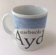 Starbucks Coffee City Mug Aydin Turkey Collector Series 16 Ounce