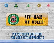 VICTORIA BITTER BANNER, Great way to decorate your Garage - High quality banner,