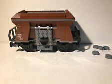 Lego 60098 Hopper Wagon Loose Built New City Train Parts Wheel Display Only