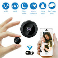 Mini Camera Wireless Wifi IP Home Security HD 1080P DVR Night Vision Remote USA