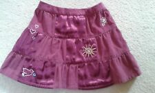 Girls Baby Gap Wine Coloured Soft Cord Skirt Age 12-18 Months IMMACULATE!!